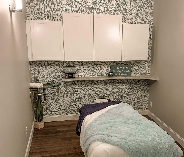 Massage therapy at Spa Blu in Port Huron, Michigan